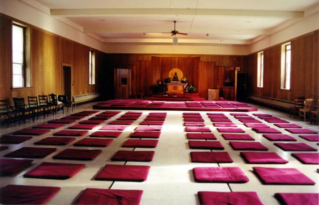 3 23 After 30 years of service, our beloved meditation hall headed for a renovation in early 2006.