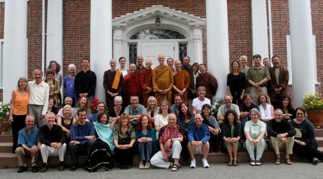 3 25 IMS hosted a gathering of insight meditation teachers from around the Western world in July, 2006.